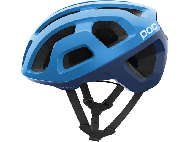 POC Octal X Spin Helm furfural blue